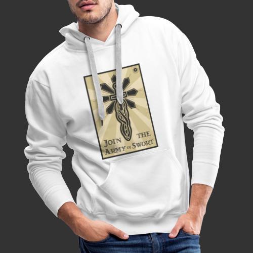 Join the army jpg - Men's Premium Hoodie