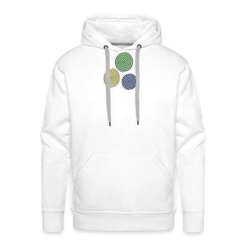 Kreise, Symbole, Figuren - Männer Premium Hoodie