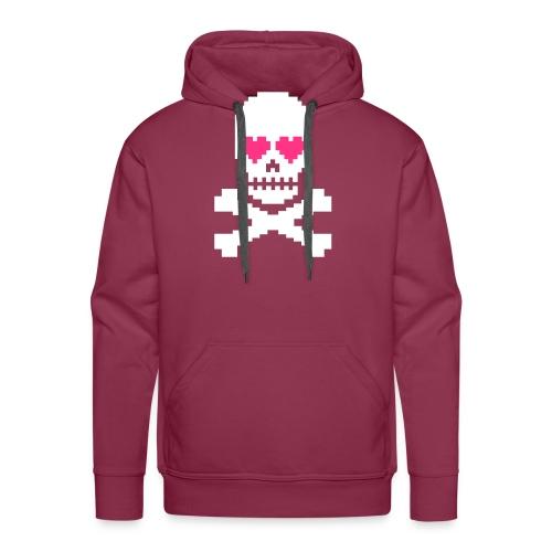 Skull Love - Mannen Premium hoodie