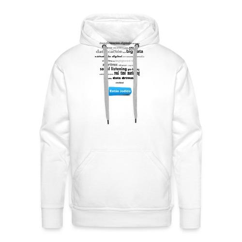 Marketing buzzwords - Sudadera con capucha premium para hombre