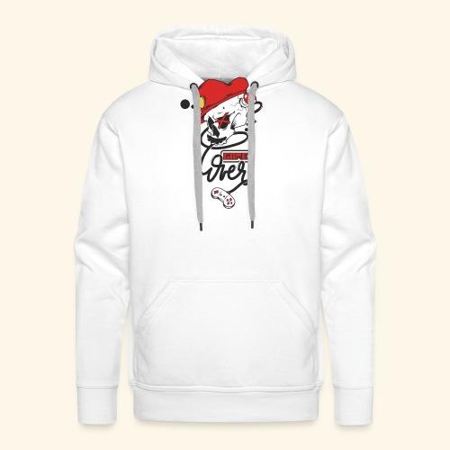 thegameOver - Sweat-shirt à capuche Premium pour hommes