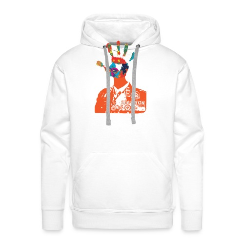 Hear-Us-Talk-To-The-Hand - Men's Premium Hoodie