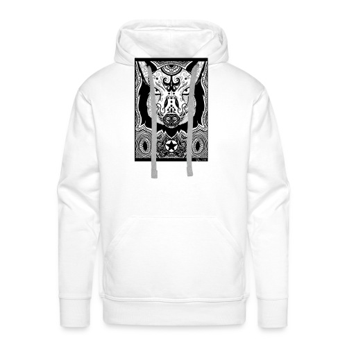 Psychedelic Boar - Männer Premium Hoodie