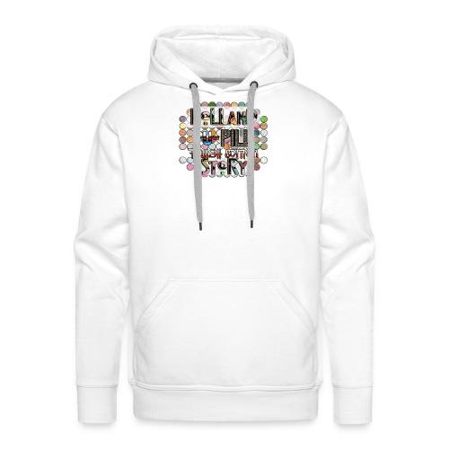 Pupille - Mannen Premium hoodie