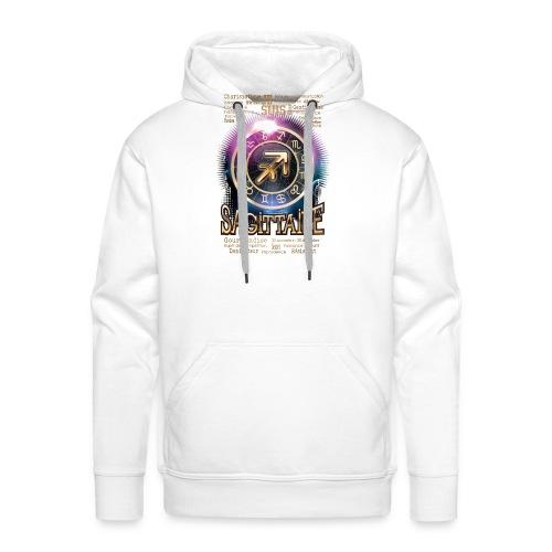 SAGITTAIRE - Sweat-shirt à capuche Premium pour hommes