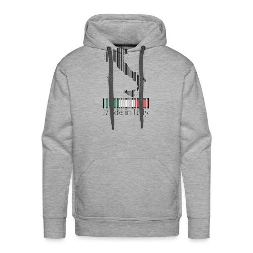 Made in Italy - Felpa con cappuccio premium da uomo