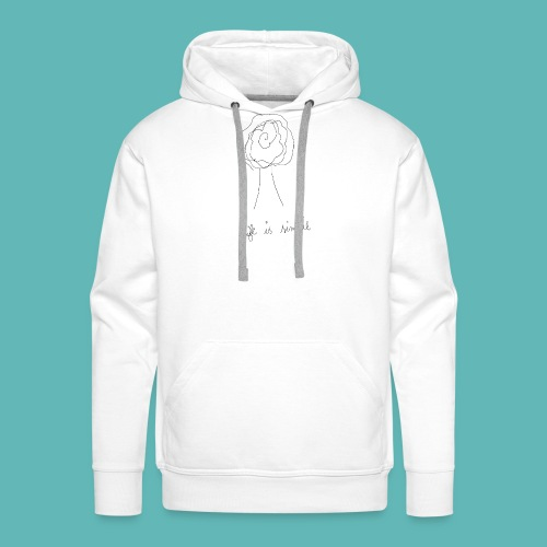 life2 - Sweat-shirt à capuche Premium pour hommes