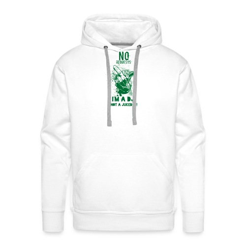DJ no JukeBox GREEN - Men's Premium Hoodie