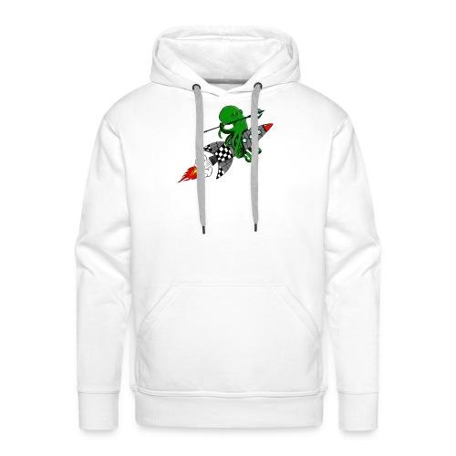 inktvis strijder - Mannen Premium hoodie