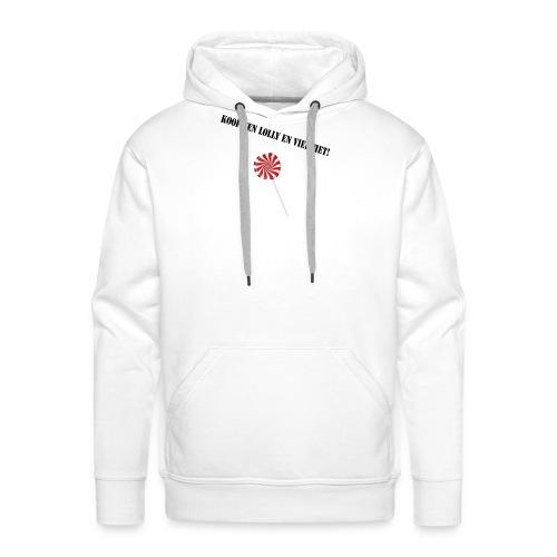 Kioop_een_lolly_en_vier_het - Mannen Premium hoodie