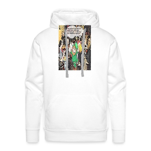 The Greatest Trick The Trad Player Ever Pulled - Men's Premium Hoodie