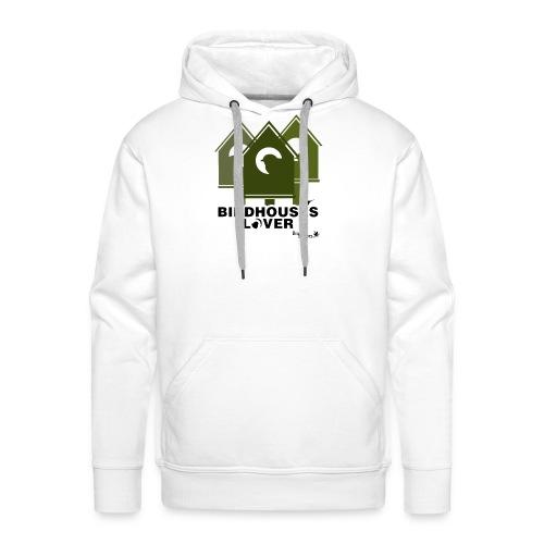 Bird House Lover - Sudadera con capucha premium para hombre