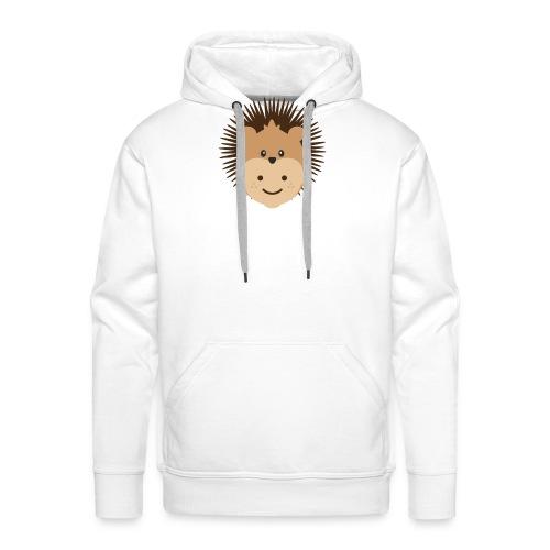 Fin the Hedgehog | Ibbleobble - Men's Premium Hoodie