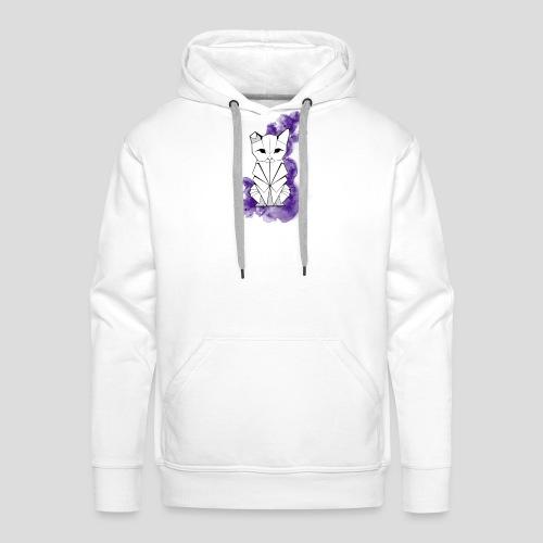 Origami cat Colo - Sweat-shirt à capuche Premium pour hommes