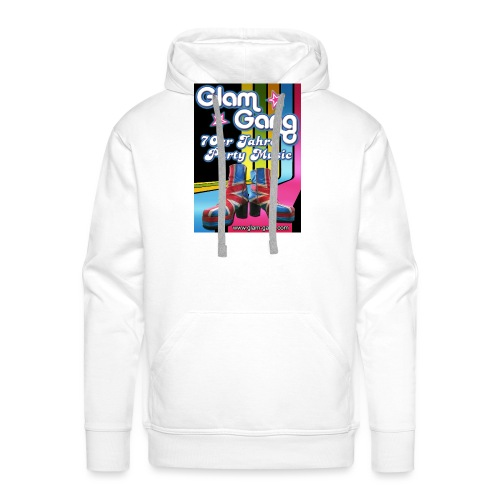 Glam Gang 70's Party Band - Männer Premium Hoodie