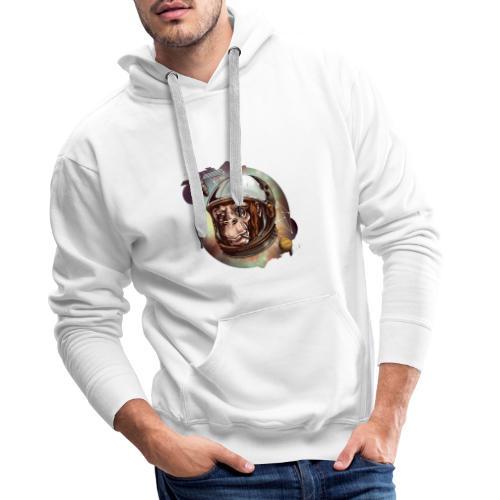 Affe Abstrakt - Männer Premium Hoodie