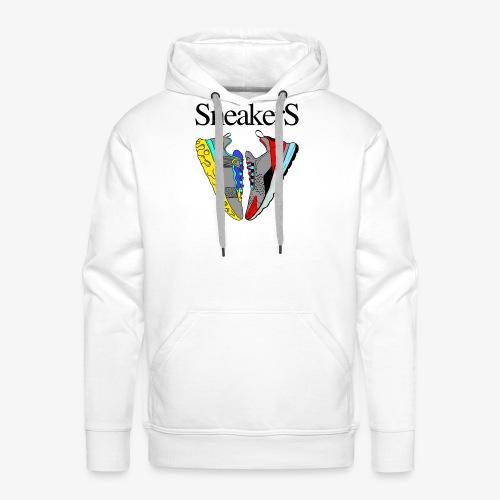 sneakers Love - Sweat-shirt à capuche Premium pour hommes