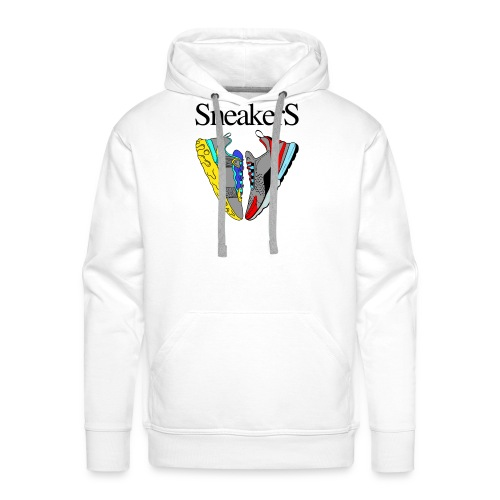 sneakers Love - Sweat-shirt à capuche Premium pour hommes