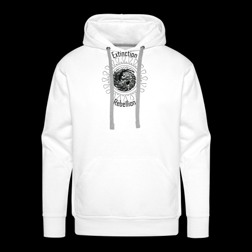 Rebellion pangolin - Sweat-shirt à capuche Premium pour hommes