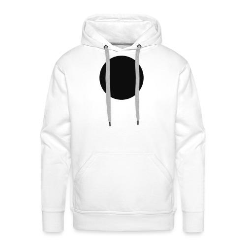 CERCLE NOIR - Sweat-shirt à capuche Premium pour hommes