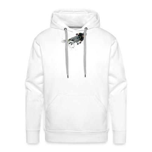 Jump! - Sweat-shirt à capuche Premium pour hommes