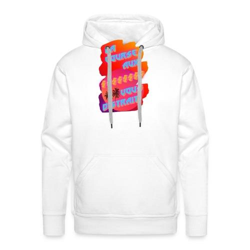 takathurr - Sweat-shirt à capuche Premium pour hommes