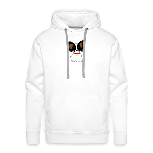 Papillon dog - Men's Premium Hoodie