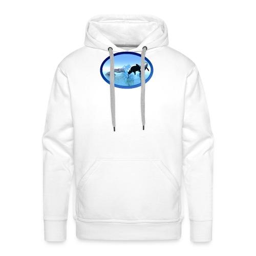 Dolfijnen en Orka's - Mannen Premium hoodie
