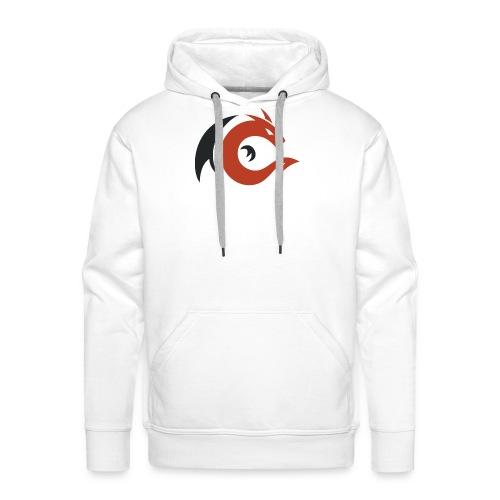 logo elbakin - Sweat-shirt à capuche Premium pour hommes