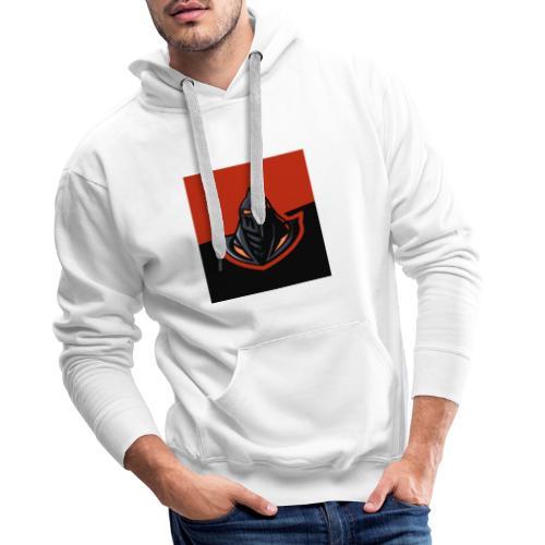 DeF Clan logo - Premium hettegenser for menn