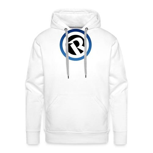 Logo Reborn Spoilers Blue - Men's Premium Hoodie