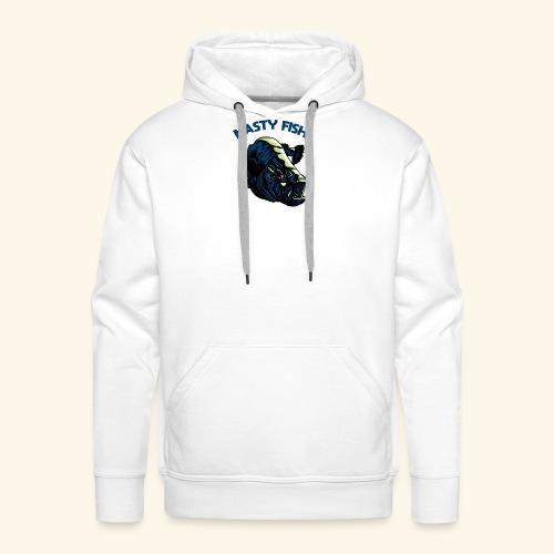 Poissons méchants - Barramundi - Sweat-shirt à capuche Premium pour hommes