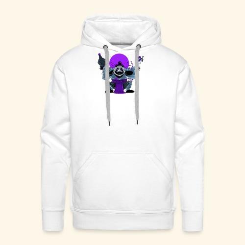 Panda Barman - Sweat-shirt à capuche Premium pour hommes