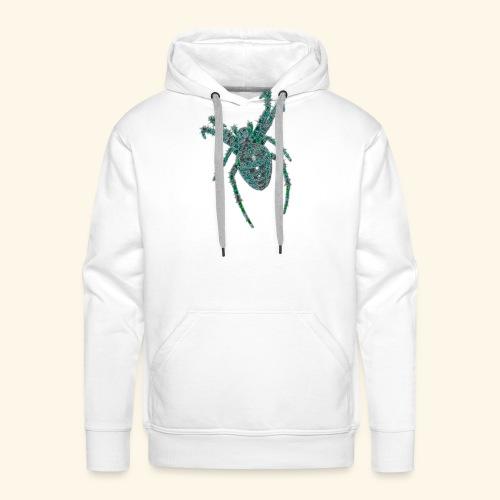 Spider Brooch Digital Art - Men's Premium Hoodie