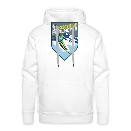 Skischul LogoPfadShirt - Männer Premium Hoodie