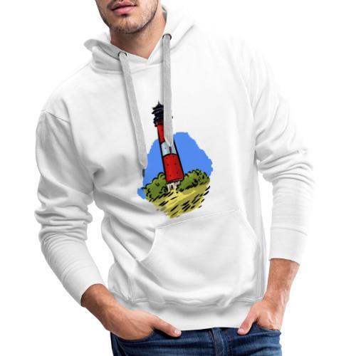 Leuchtturm Hörnum Sylt - Männer Premium Hoodie
