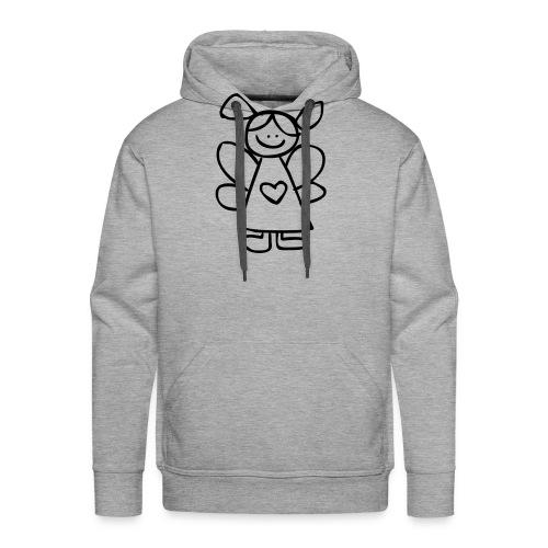 belinda's engeltje - Mannen Premium hoodie