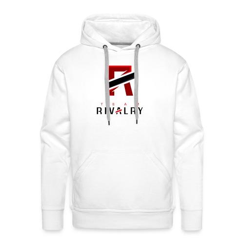 TeamRivalry black bar design - Männer Premium Hoodie