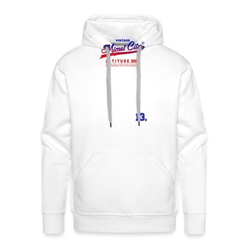 Mimet City - Sweat-shirt à capuche Premium pour hommes