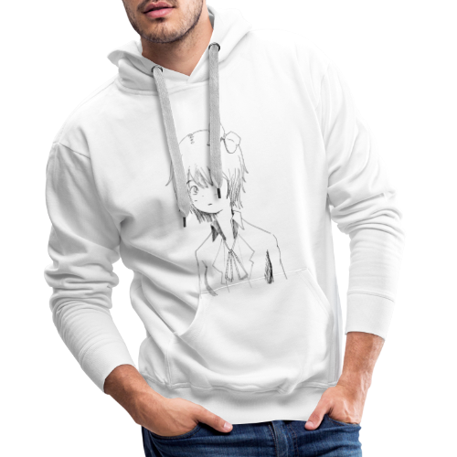 Cartoon girl - Men's Premium Hoodie