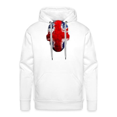 Borg recordings uk Union flag MetaSkull T Shirt - Men's Premium Hoodie