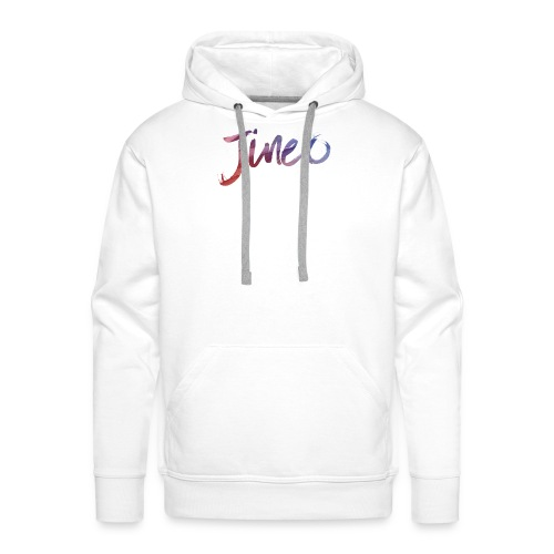 Logo Jineo - Sweat-shirt à capuche Premium pour hommes