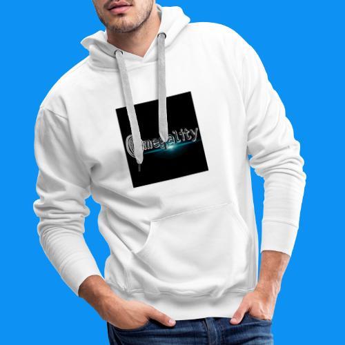 omegality - Sweat-shirt à capuche Premium pour hommes