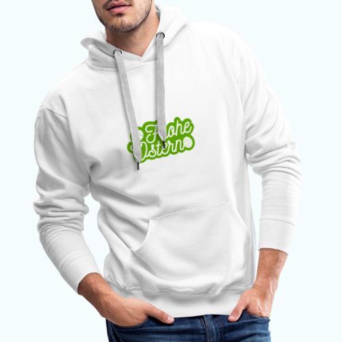 Frohe Ostern - Men's Premium Hoodie