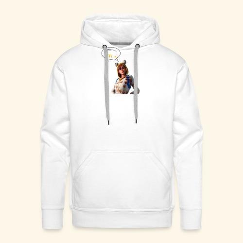 Mcdo - Sweat-shirt à capuche Premium pour hommes