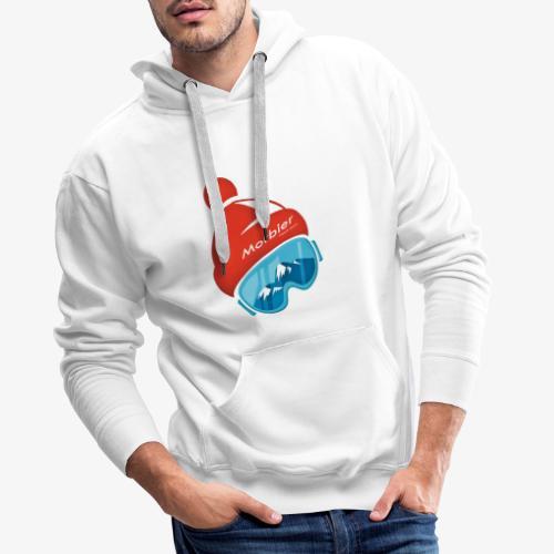 Bonnet Morbier - Sweat-shirt à capuche Premium pour hommes