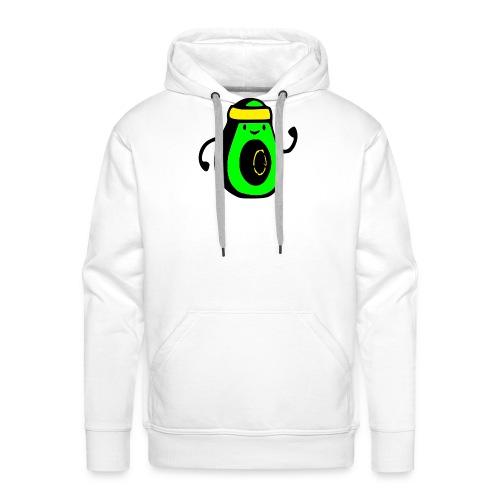 aguacate ninja - Sudadera con capucha premium para hombre