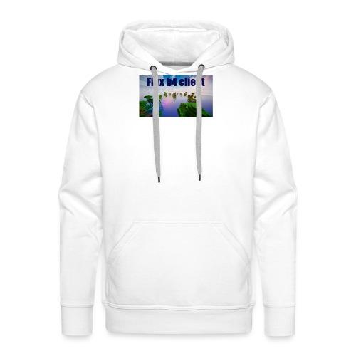 Flux b4 client shirt - Premiumluvtröja herr