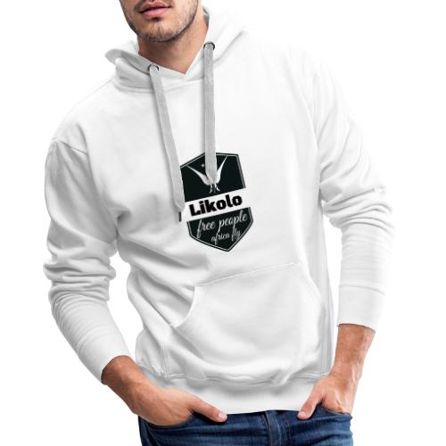 likolo. - Sweat-shirt à capuche Premium pour hommes