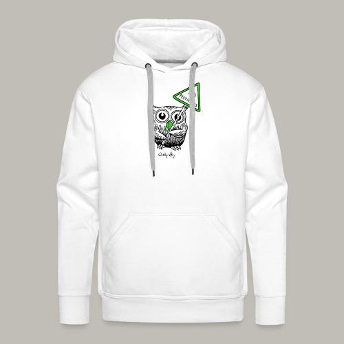 No pesticides - Sweat-shirt à capuche Premium pour hommes